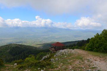 krajobraz górski w Macedonii